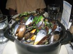 Mussels Marinieres