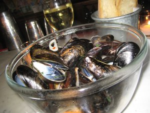 Mussels at Casimir